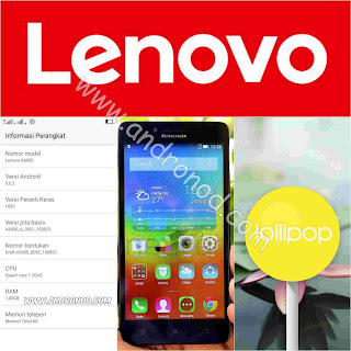 Cara Update & Downgrade Manual Lenovo A6000/PLUS Kitkat ke Lollipop