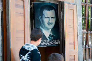 What did Iran gain from the Syrian civil war?