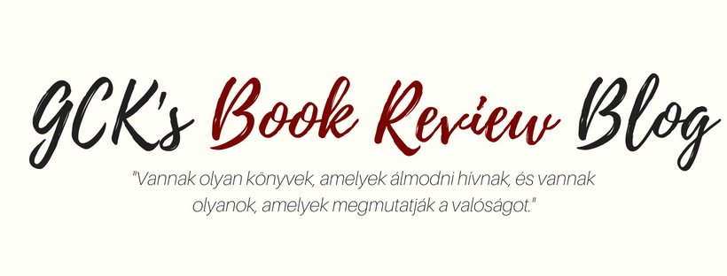 GCK's Book Review Blog