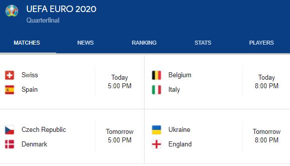Switzerland - Spain: Where to watch the match streaming?