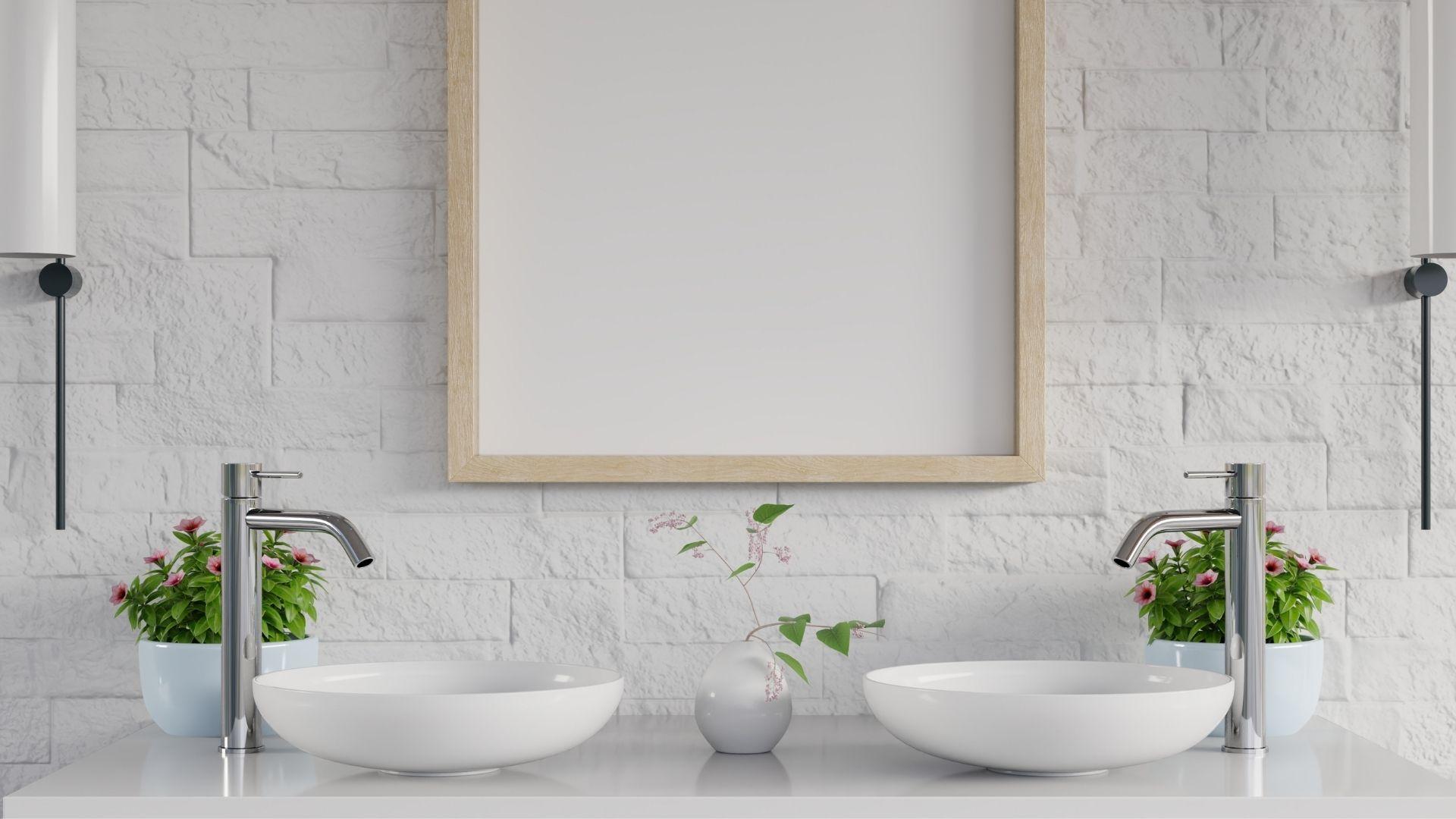 dekoracje do łazienki na ścianę