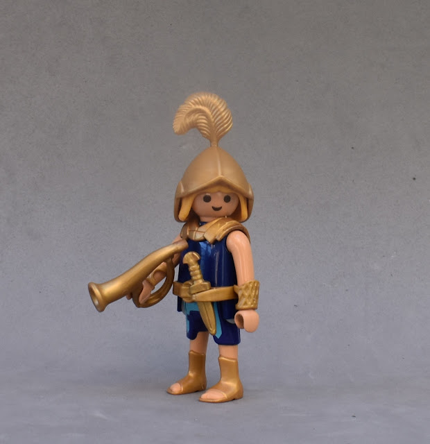 PLAYMOBIL CUSTOM FIGURE ANCIENT GREECE HERMES