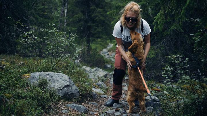 hiking-with-dog