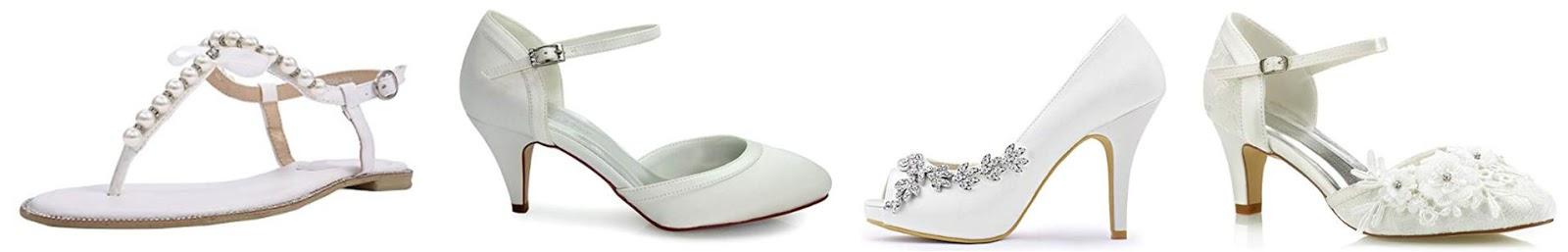 best budget bridal shoes