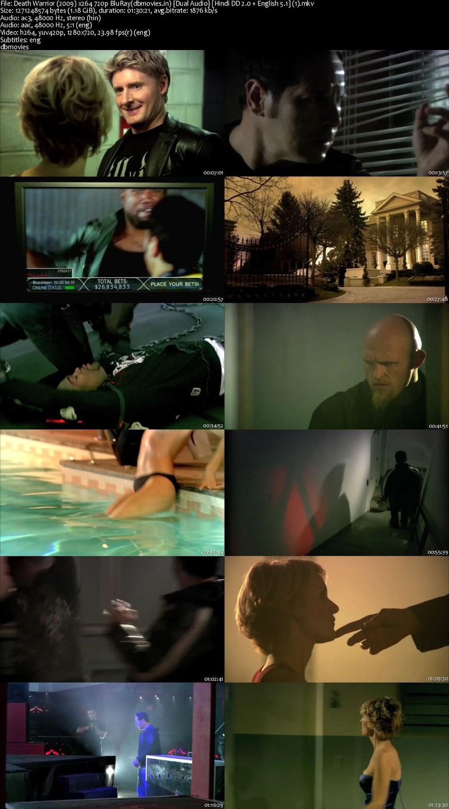 screen shot Death Warrior 2009 Full Movie Download Dual Audio Hindi 720p