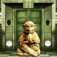 MirchiGames - Find the Golden Monkey Statue Escape
