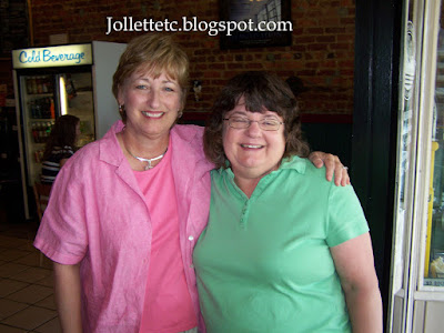 Wendy and Shirley Ziemer 2008  https://jollettetc.blogspot.com