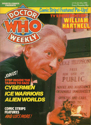 Doctor Who Weekly #15, William Hartnell