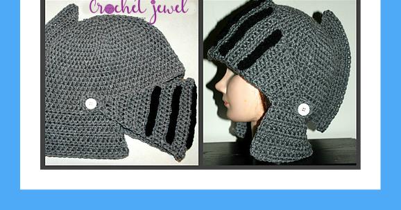 Amys Crochet Creative Creations Crochet Mens Knight Helmet Hat