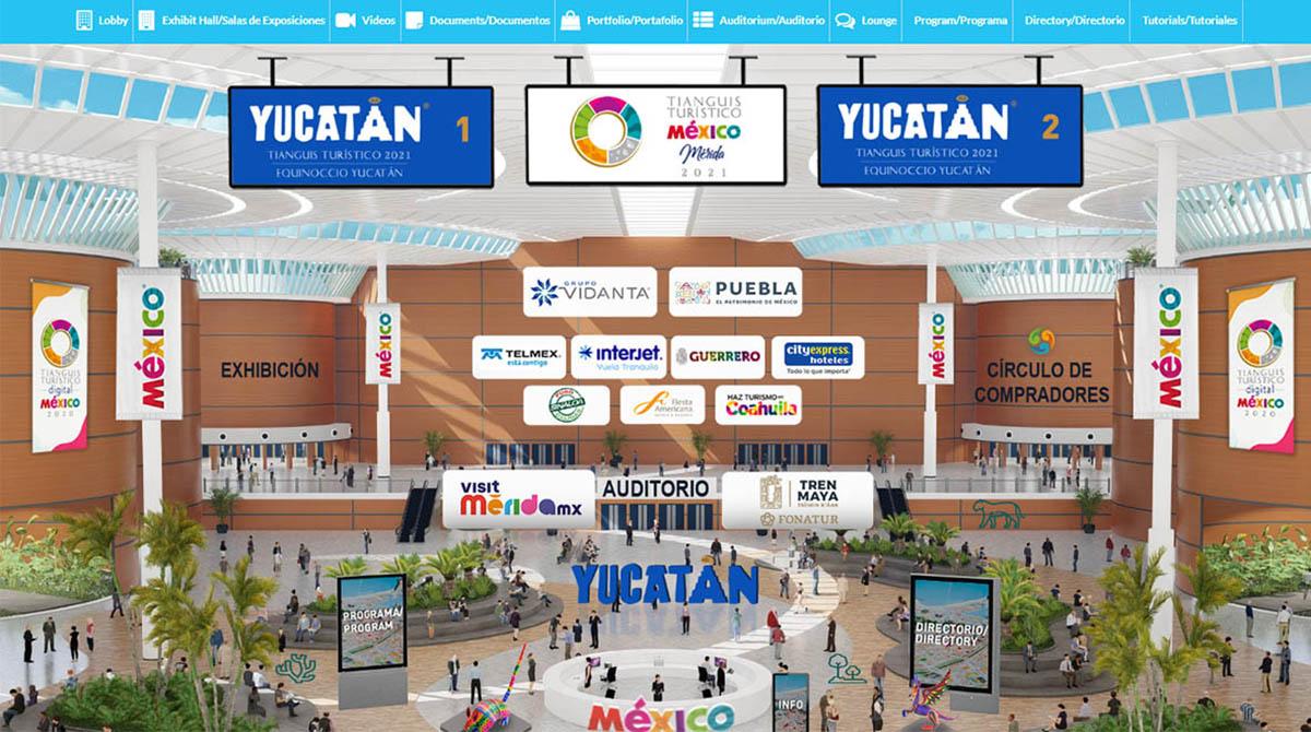 YUCATÁN FUERTE PRESENCIA TIANGUIS TURÍSTICO DIGITAL 03