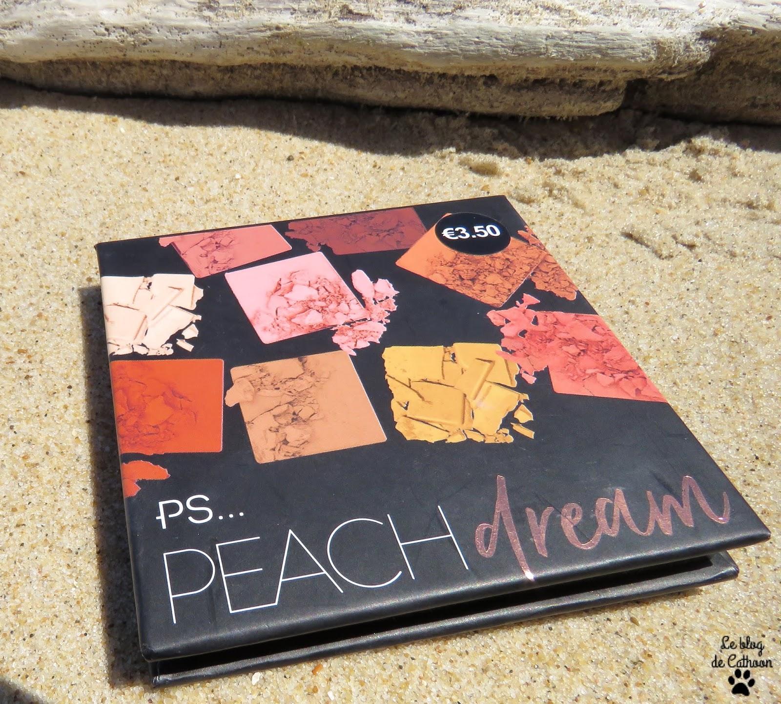 Ps... Peach Dream Palette