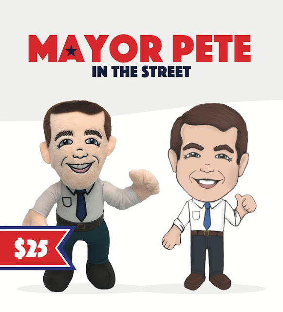 Mayor Pete in the Street