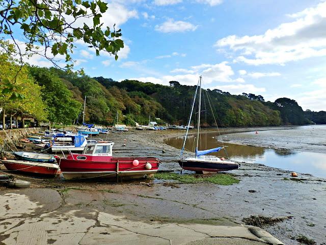 Sunny Corner on the Truro River, Cornwall