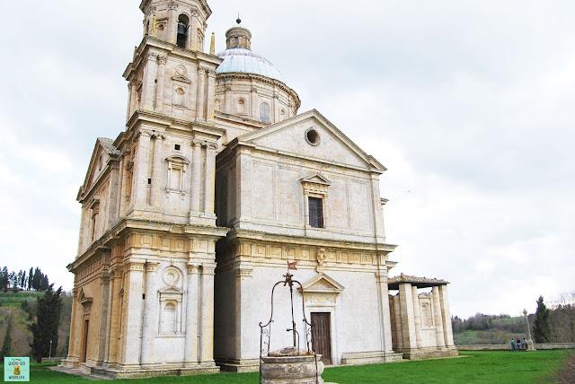 Iglesia de San Biagio en Montepulciano