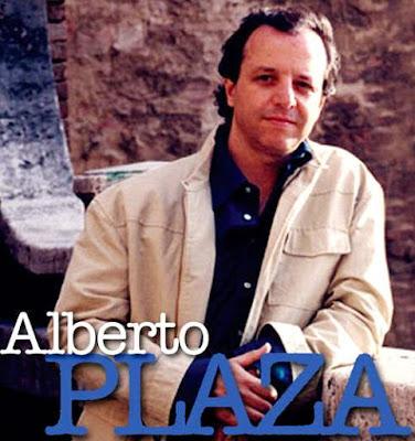 Foto de Alberto Plaza en portada de disco