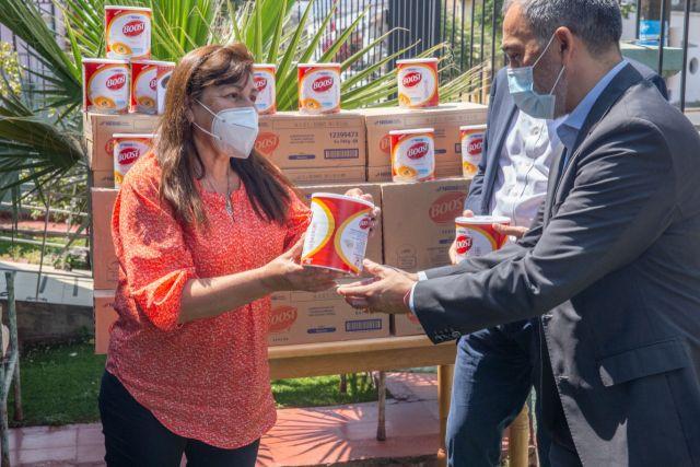 Nestlé entrega alimentos