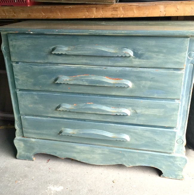 Beautiful Vintage Dresser and a Memo Board