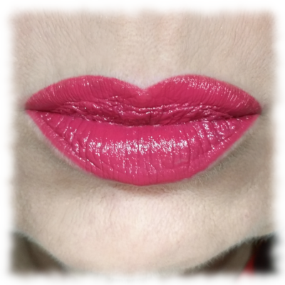 Lips wearing Maybelline Fuchsia For Me