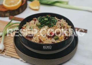 Cara Membuat Nasi Goreng Daging Sapi Asap