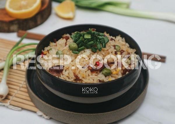 Resep Nasi Goreng Daging Sapi Asap Enak dan Cara Membuatnya