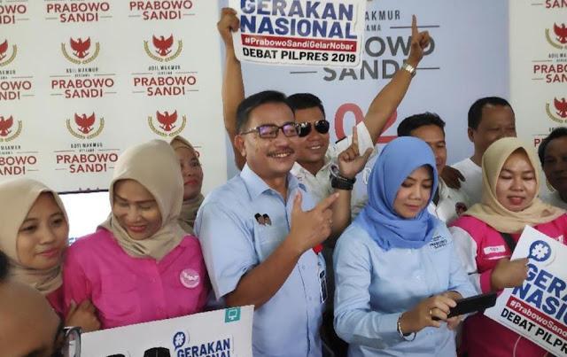 Saran Ferry ke Moeldoko: Jika Lewat Posko BPN Prabowo-Sandi Solo, Enggak Usah Dipandang