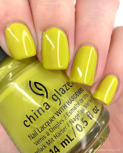 China Glaze Its All Techno 25 Sweetpeas
