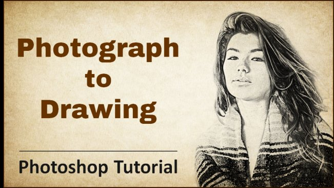 Photograph to Drawing - Photoshop Tutorial - Skillshare Course