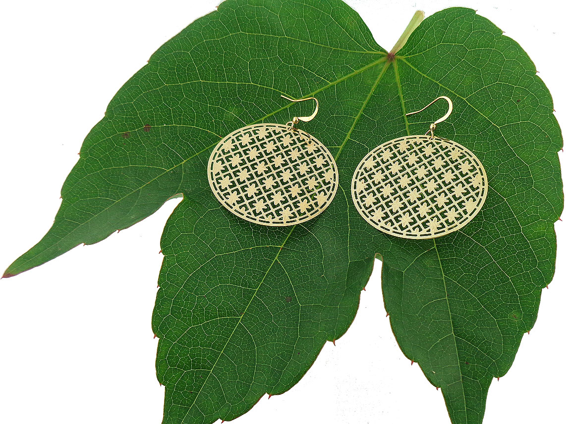LAVISHY filigree earrings from Funkii collection