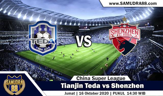 Prediksi Bola Terpercaya Tianjin Teda vs Shenzhen 16 September 2020