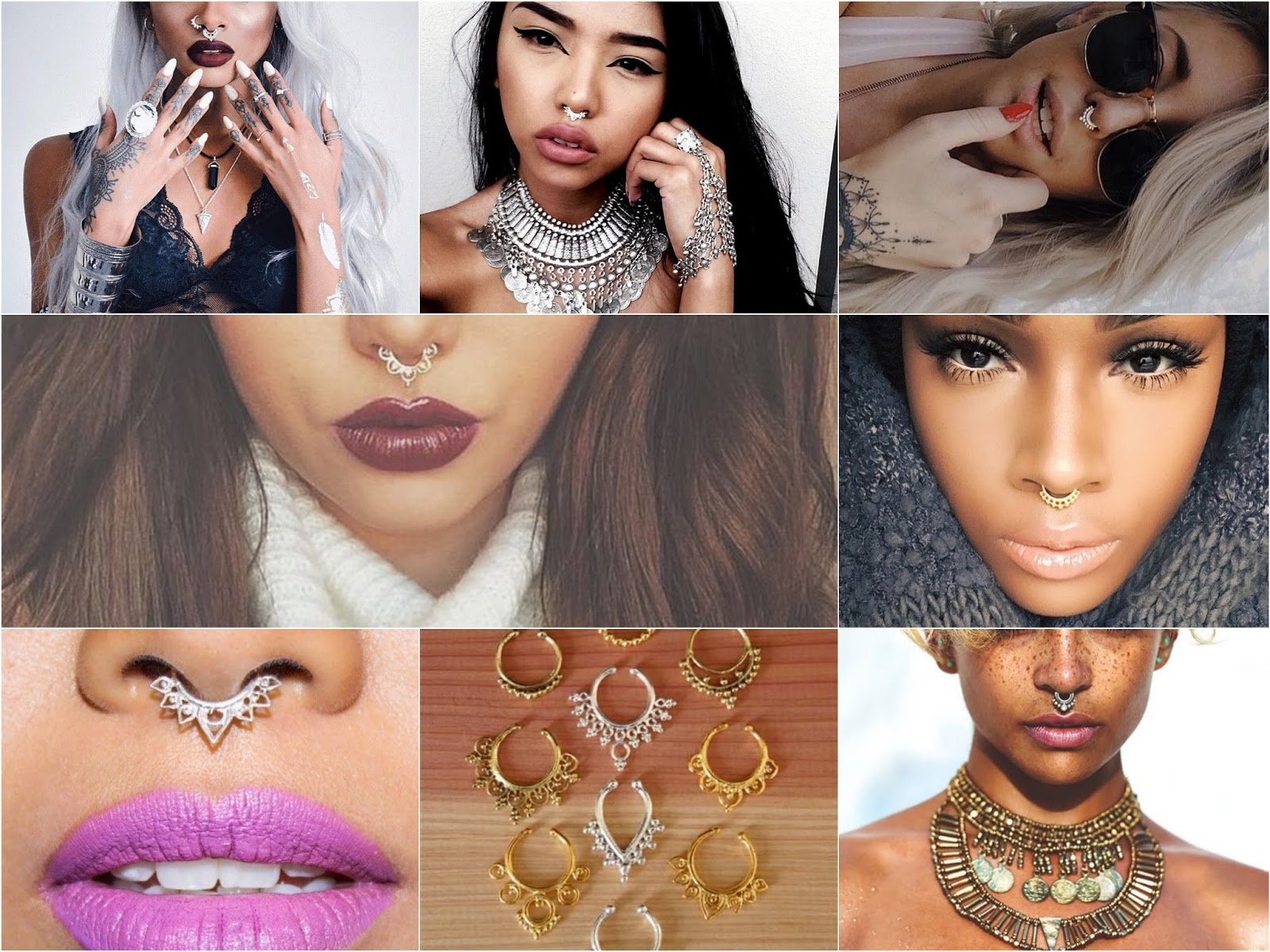 Unique Spectrum piercing: Sunday trend inspiration and cultural  KQ83