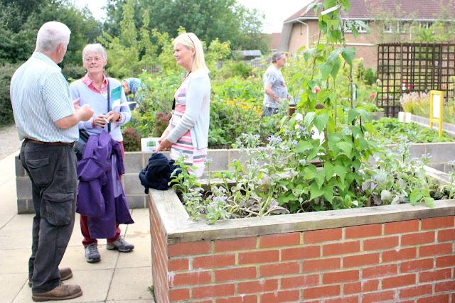 RHS, pioneer, care centre, garden Newton Aycliffe, PCP