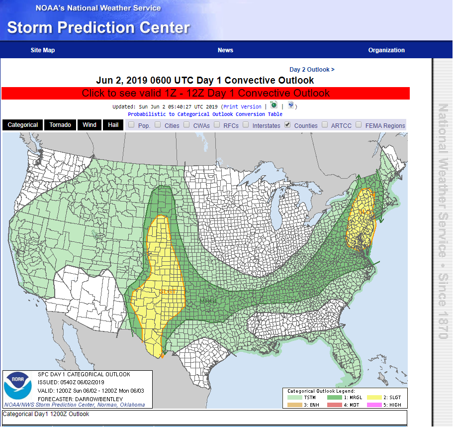 Three More Days Of Severe Weather Coming Up