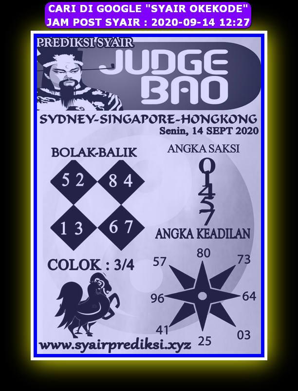 Kode syair Hongkong Senin 14 September 2020 279