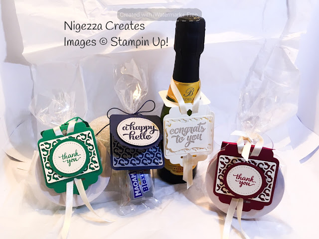 Stampin Up Cheerful tags Nigezza creates