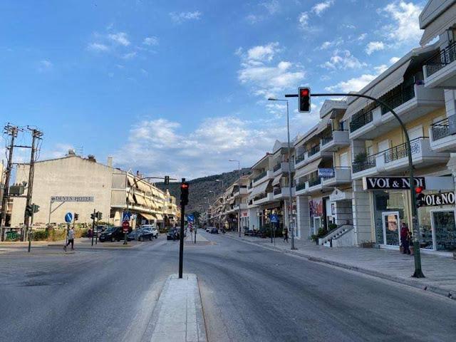 Ναύπλιο: Σε λειτουργία και πάλι τα φανάρια στην διασταυρωση Άργους και Χαριλάου Τρικούπη