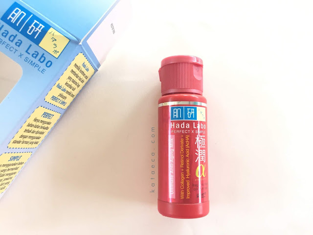 hada labo ultimate anti aging milk