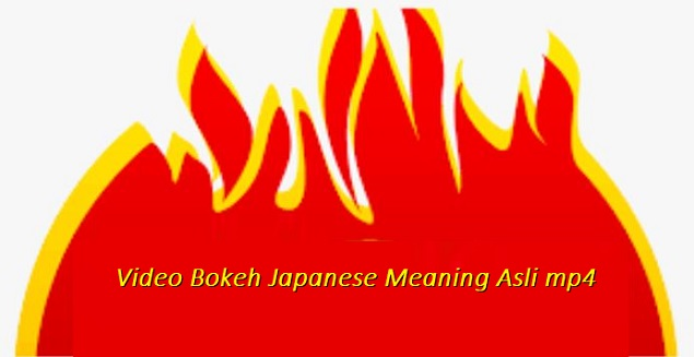 Video Bokeh Japanese Meaning Asli mp4 Trendsmap no sensor ...