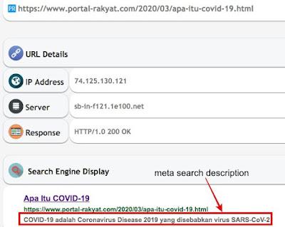 meta search description