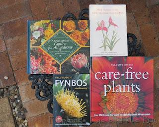 Gardening books well used