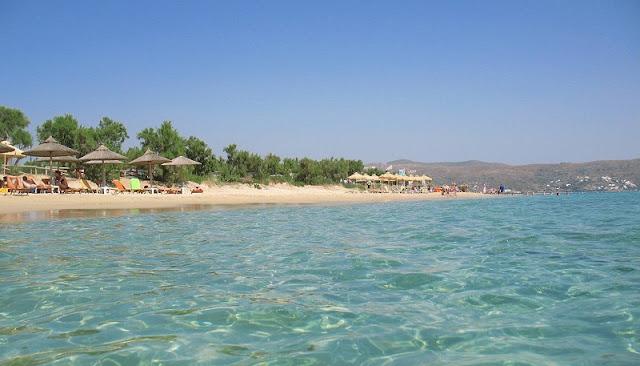 Praia Plaka, Naxos