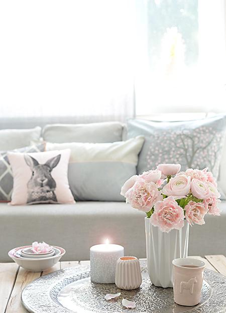 wunderschoen gemacht fr hlingsrosa grau. Black Bedroom Furniture Sets. Home Design Ideas