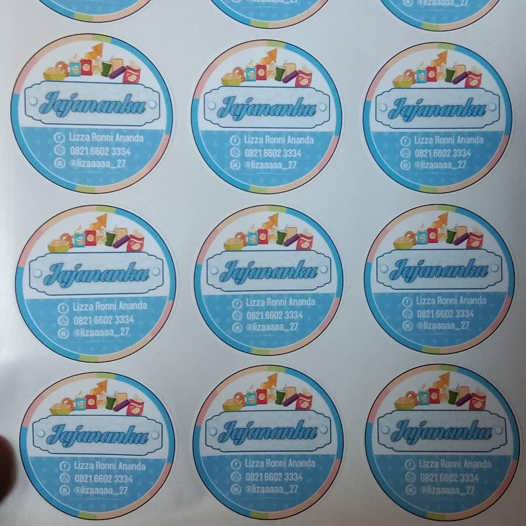 Contoh Desain Logo Olshop Biru Bulat - Jasa Desain Online ...