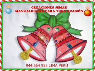 Manualidades De Navidad Campanas.Manualidades Para Toda Ocasion Ding Dong Las Campanas