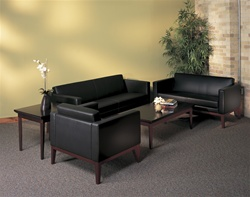 Leather Reception Furniture