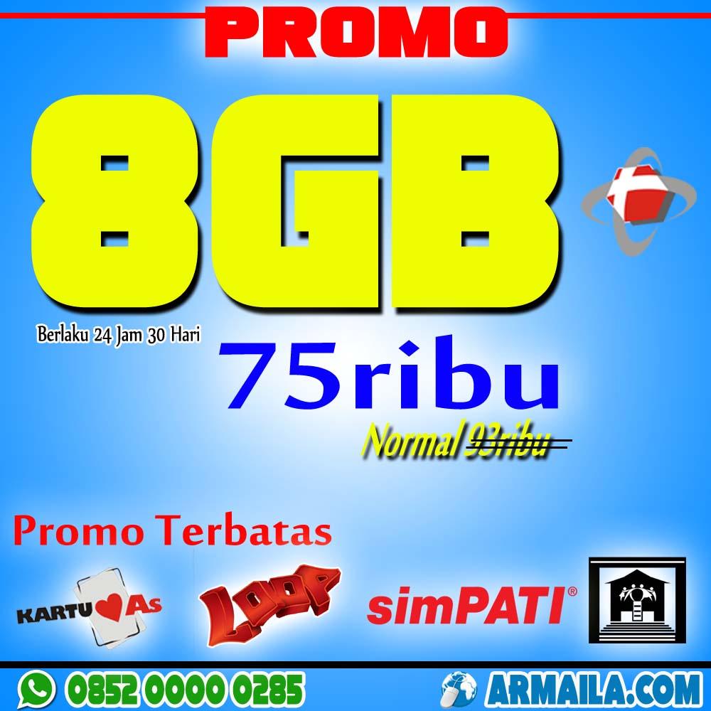 Paket Promo Telkomsel 8GB 75rb cara daftar paket 8gb telkomsel pembagian kuota simpati 8gb paket flash 8gb 80000 paket simpati loop 8gb paket telkomsel 50 ribu 12gb perdana simpati 8gb paket internet telkomsel paket data telkomsel 50 ribu berapa gb