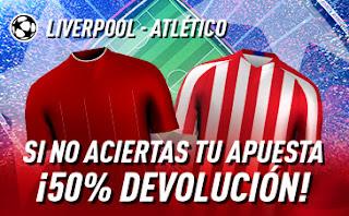 Sportium promocion Champions Liverpool vs Atlético 11 marzo 2020