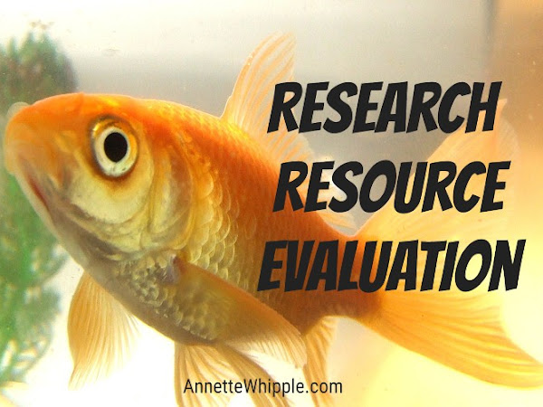 Resource Evaluation for Writers