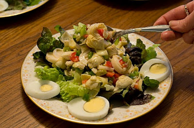 This Post Has Been Linked To Eat At Home South Beach Salad