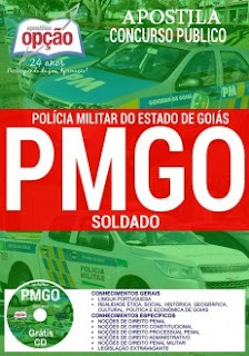 Apostila preparatória PMGO 2017 para Soldado da Polícia Militar-GO