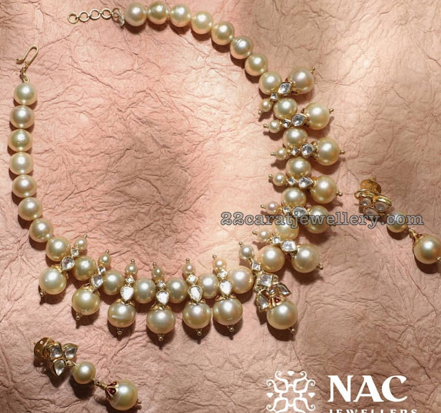 Large South Pearls Choker by Nac